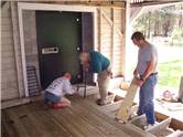 Installing Wood Shed Floor